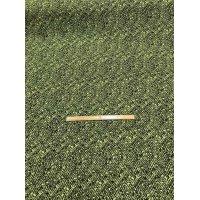 生地:ヘリンボーン編み柄シルク(黄緑)