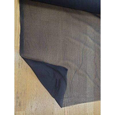 画像1: 洋裁材料:ニット用接着芯(黒)極薄